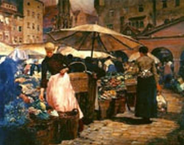 Tiffany Market Day at Nuremberg